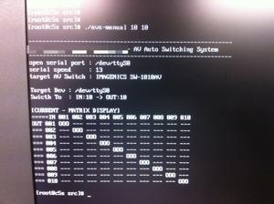 AVスイッチャー+Linux