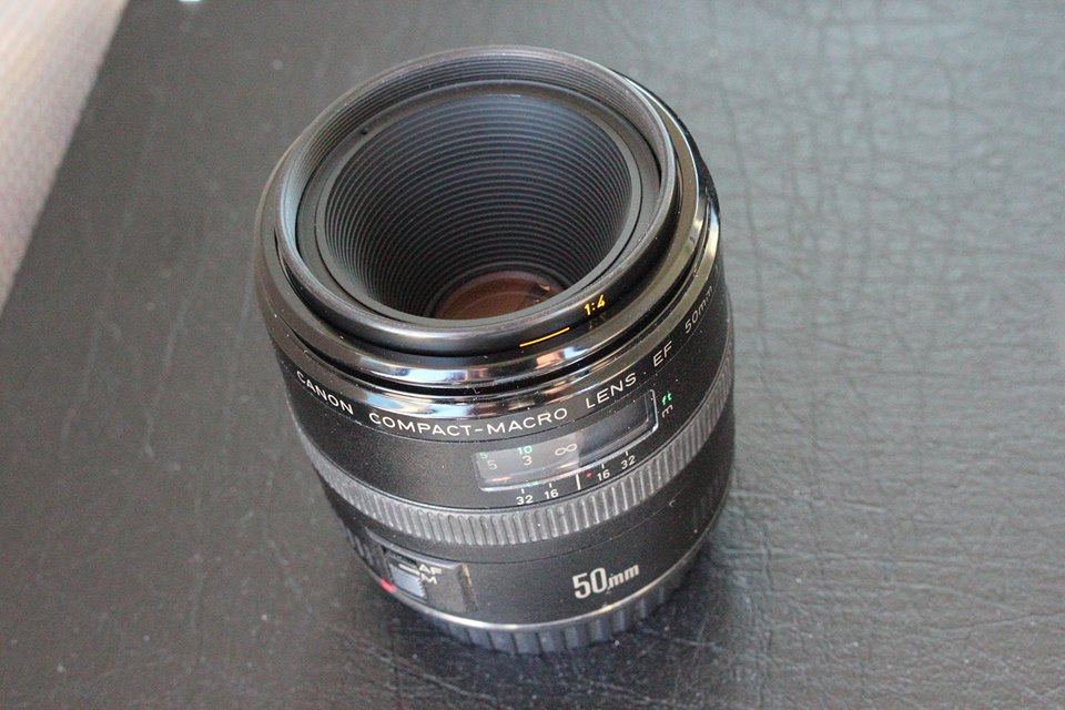 Canon EF 50mm F2.5 Compact Macro