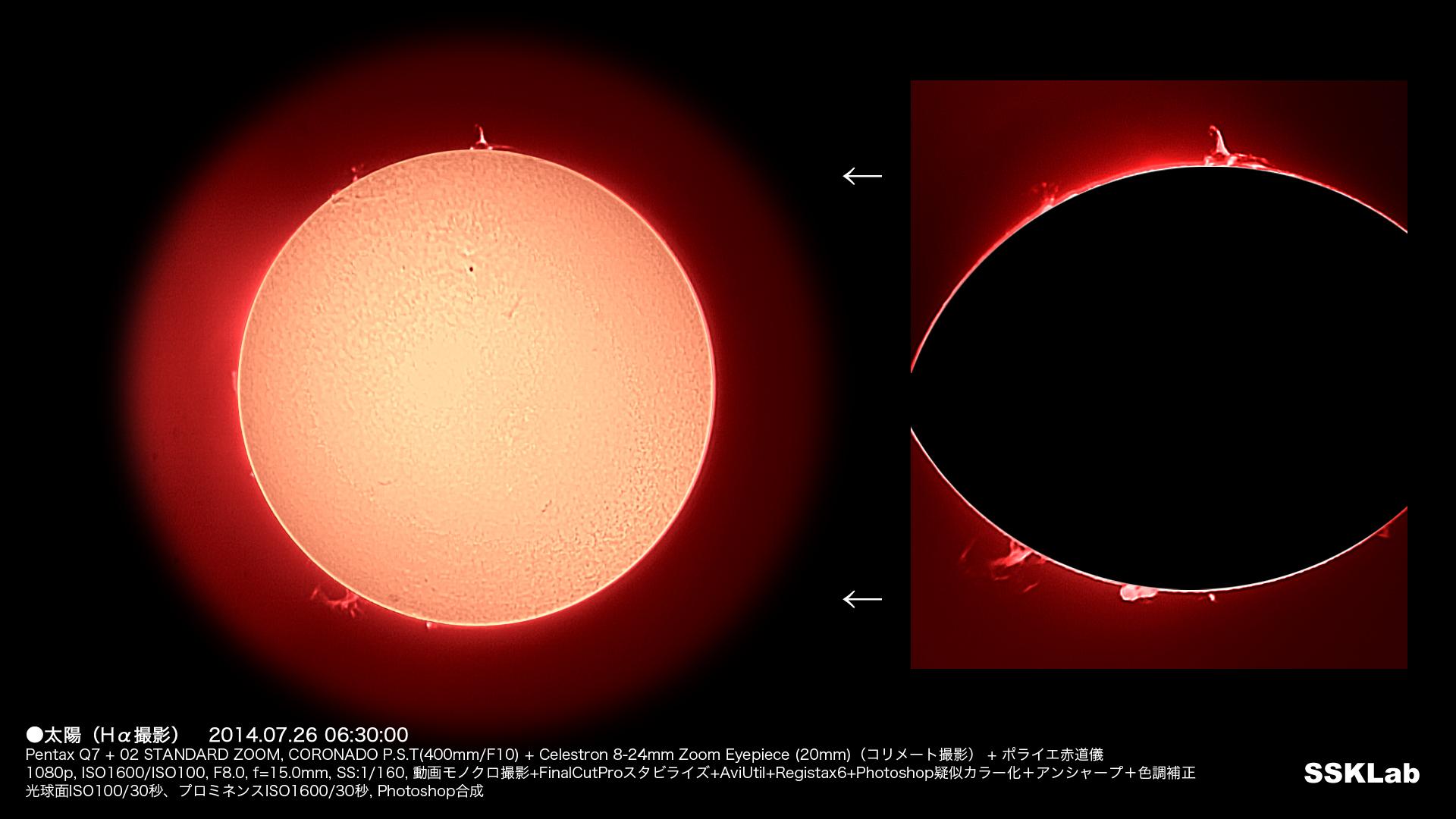 7月の太陽