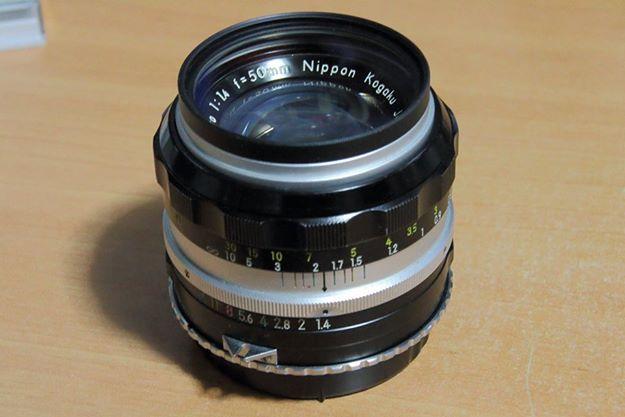 Nikon Nikkor-S Auto 50mm F1.4
