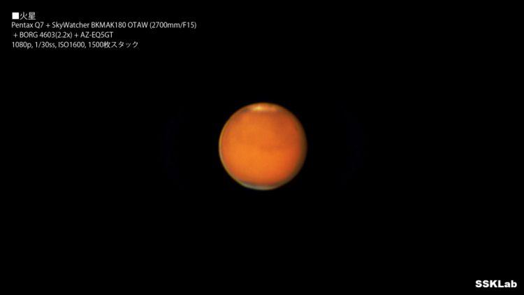 火星大接近。ここ最近の火星、木星、土星、金星