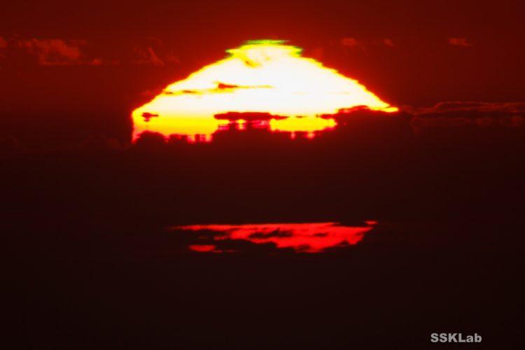 太陽16変化。